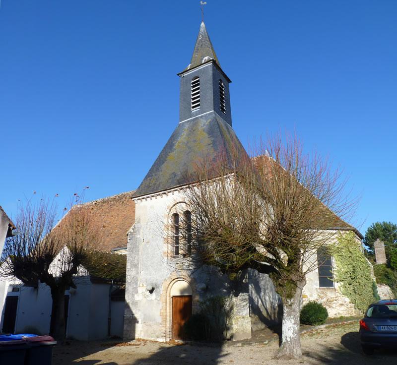 Eglise Coutencon - Patrimoine Religieux de Seine-et-Marne - clocher