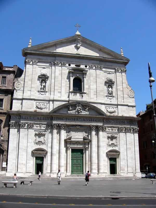 Santa Maria in Vallicella Eglises de Rome la façade